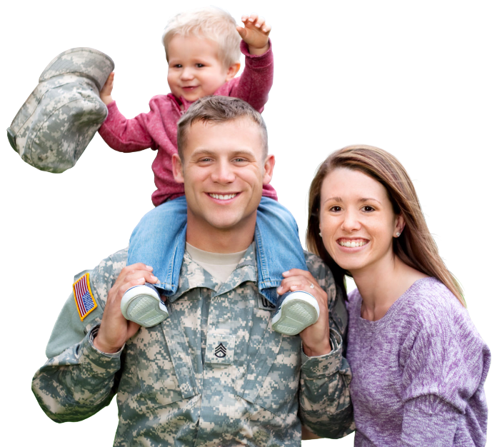 military family finding out how do VA loans work