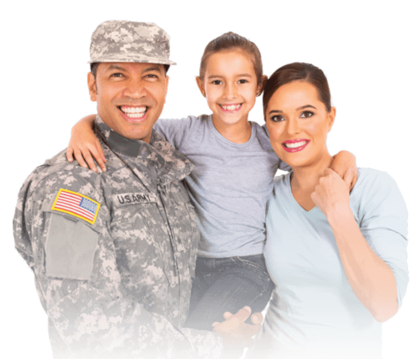 veteran and his family asking what is a VA loans
